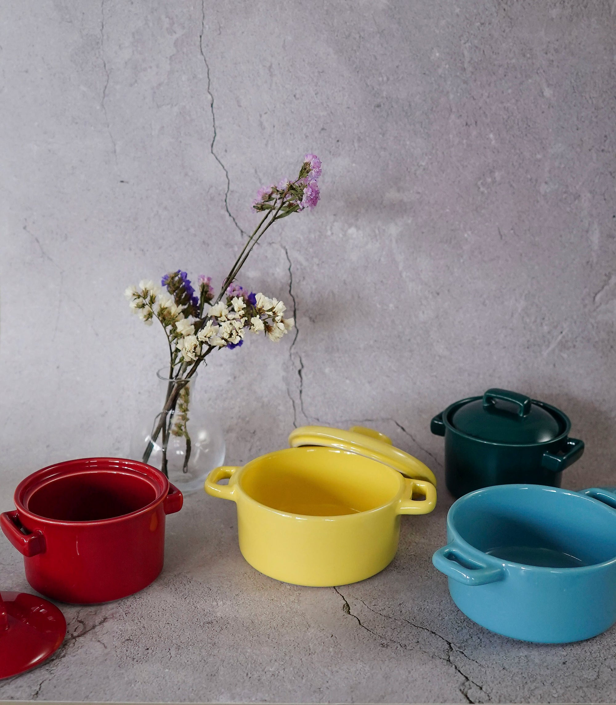 Niceto Serving Bowl - 4 colors