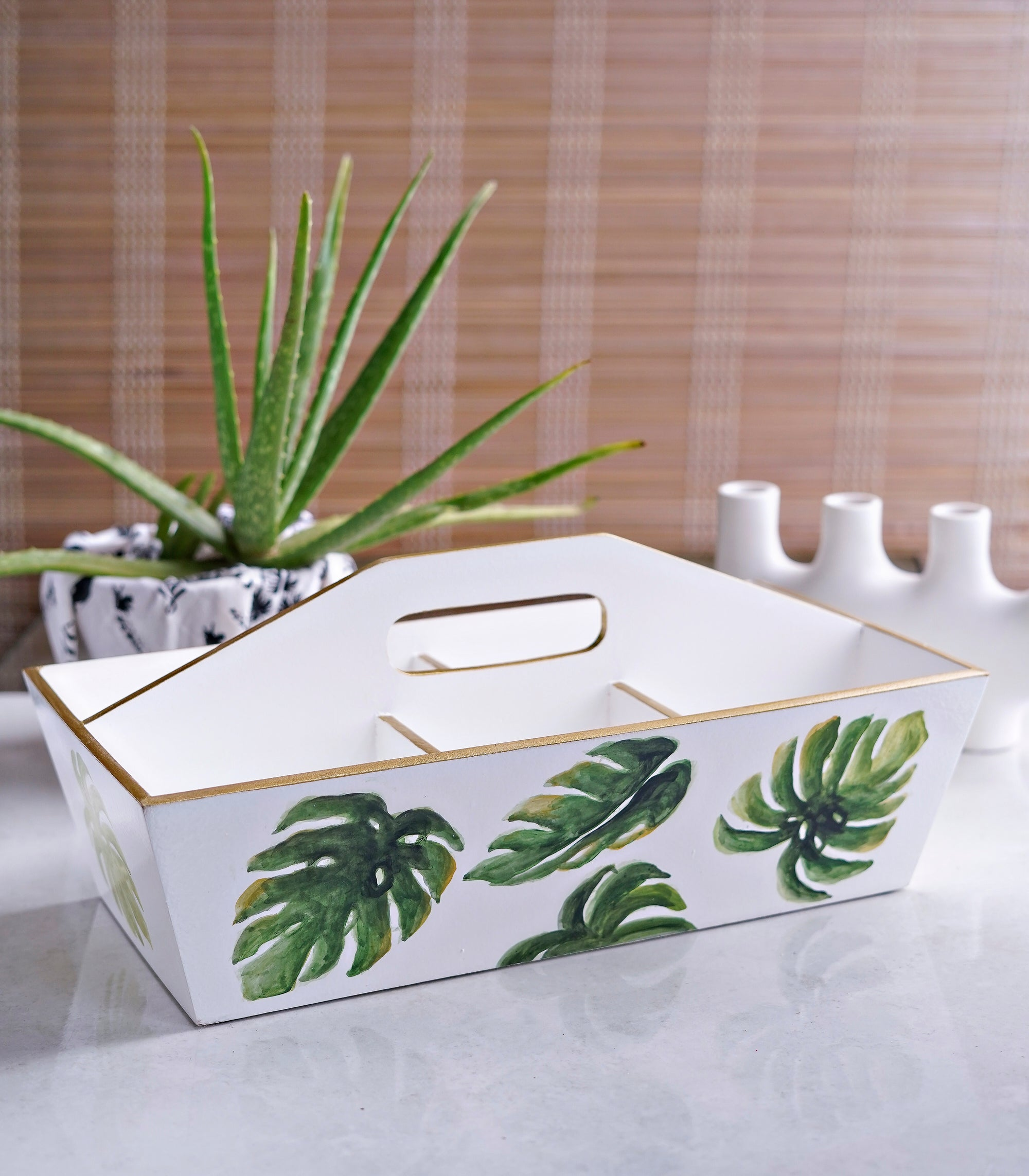 Anitz Caddy Organizer - Monstera