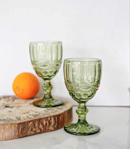 Flore Wine Glass- Set of 4 (300 ml)