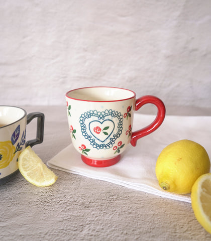 Bella Ceramic Mug - 2 colors