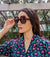 Beica Retro Hexagon Sunglasses