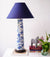 Lampu - Blue Toile (Tall)