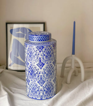 Blau Round Ginger Jar - 2 sizes