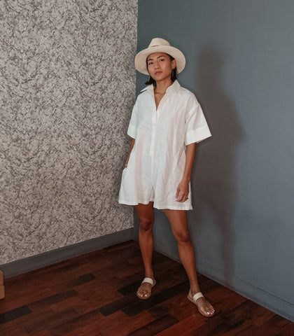 Mombasa Linen Playsuit