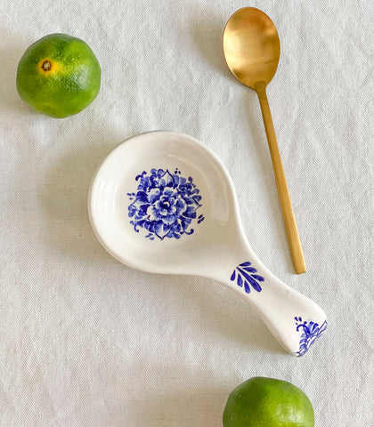 Porto Ceramic Spoon Rest