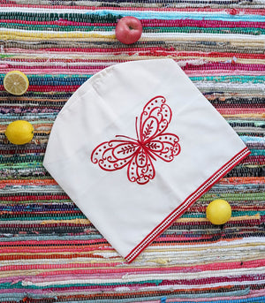 Butterfly Embroidered Dispenser Cover - 4 variants