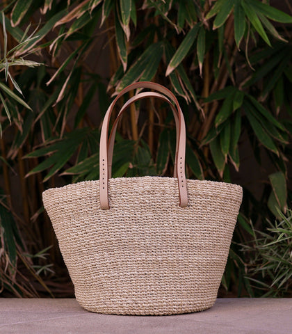 Bag - Consuelo Abaca Bag (Beige)