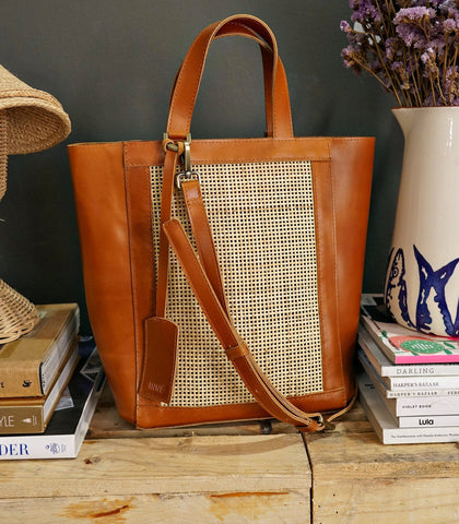 Bag - Cruz Winged Tote - Tan