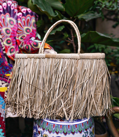 Bag - Cuarta Pandan Fringe Bag