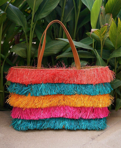 Laarni Multi-Colored Tote Bag