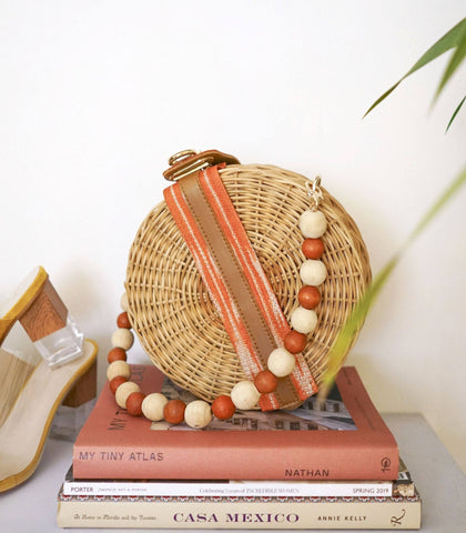 Bag - Marikit Round Wicker Hand Bag