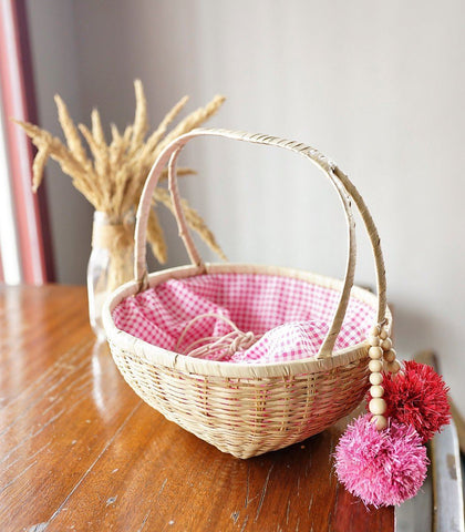Bag - Pink Piper Picnic Basket