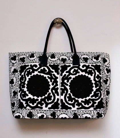 Bag - Taraz Suzani Embroidered Extra Large Tote