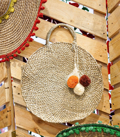 Bag - Ternate Round Woven Tote