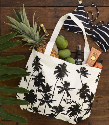 Bags - Coco Palms Splash-Proof Reversible Tote