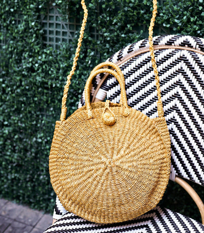 Bags - Savanna Abaca Sling Bag