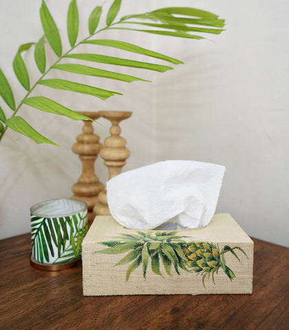 Bath Amenities - Bibulka Quattre Tissue Box