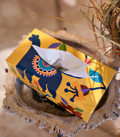 Bath Amenities - Bibulka Tria Tissue Box