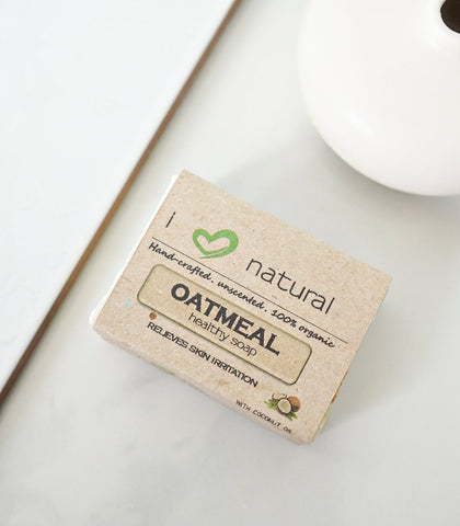 Bath & Body - I Love Natural Oatmeal Soap - 120g