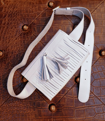 Belt Bag - Fanny Fringe Leather Belt Bag