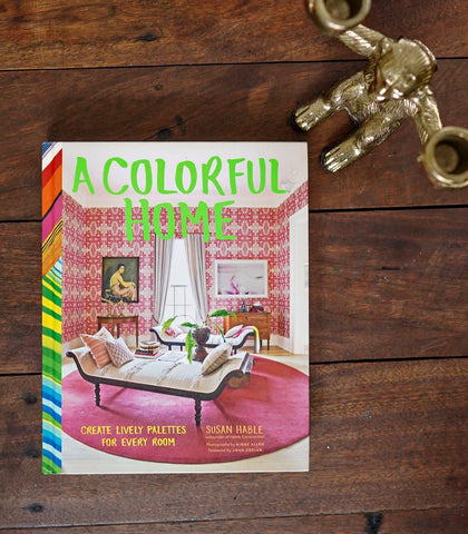 Books & Gifts - A Colorful Home By Susan Hable