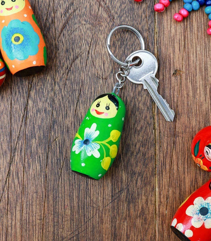 Books & Gifts - Matryoshka Key Holder