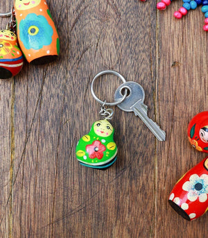 Books & Gifts - Stout Matryoshka Key Holder
