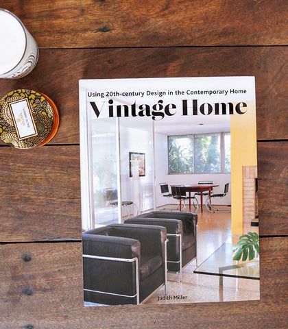 Books & Gifts - Vintage Home: Using 20th-century Design In The Contemporary Home By Judith Miller