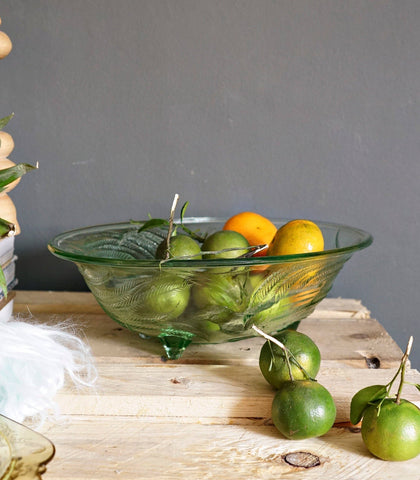 Bowl - Jardine Glass Serving Bowl