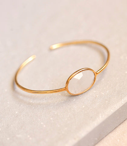 Bracelet - Isabel Moonstone Bangle