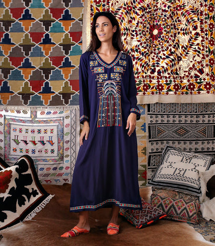 Caftan - Azilal Embroidered Caftan