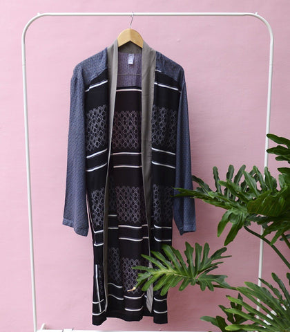 Caftan - Sample 179| Mixed Print Robe