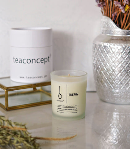 Candle - Tea Concept-Energy Candle (6 Oz. Aroma Candle)