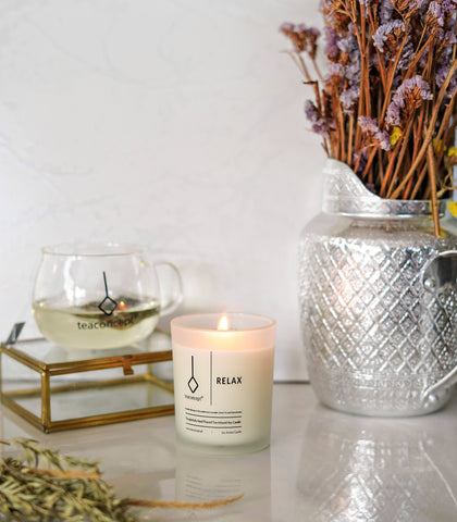 Candle - Tea Concept-Relax Candle (6 Oz. Aroma Candle)