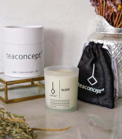 Candle - Tea Concept-Sleep Candle (6 Oz. Aroma Candle)