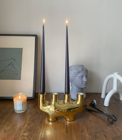 Candlesticks - Alhambra Candle Holder (Gold)