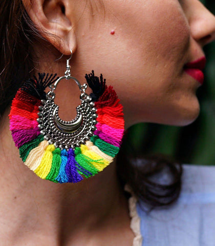 Carcasi Fringe Earrings
