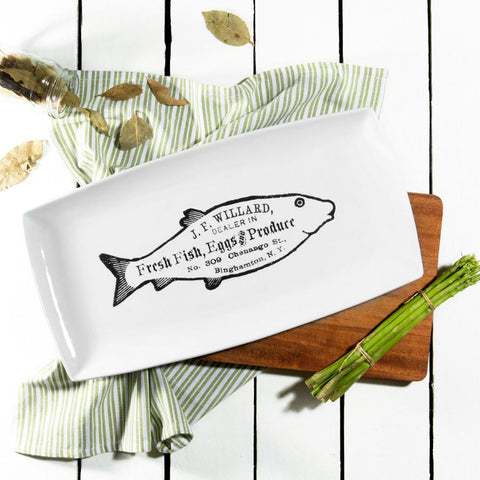 Ceramics - Fishy Serving Plate