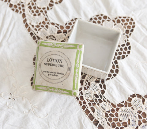 Ceramics - Lotion Square Box