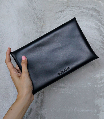 Clutch - Sobre Grande Leather Pouch