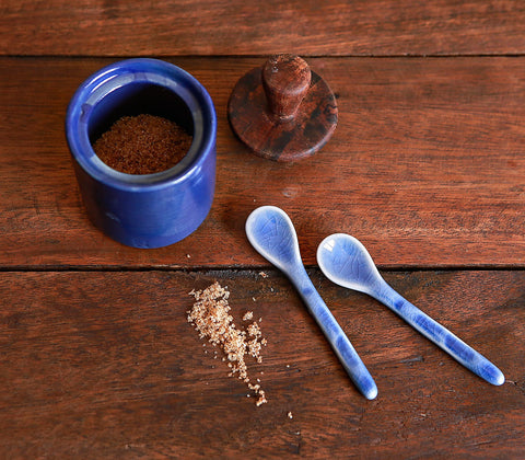 Coffee Mercantile - Ceramic Coffee Spoon (Set Of 2)