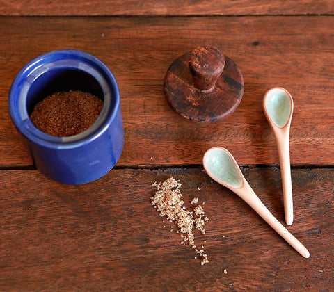 Coffee Mercantile - Ceramic Mini Spoon (Set Of 2)