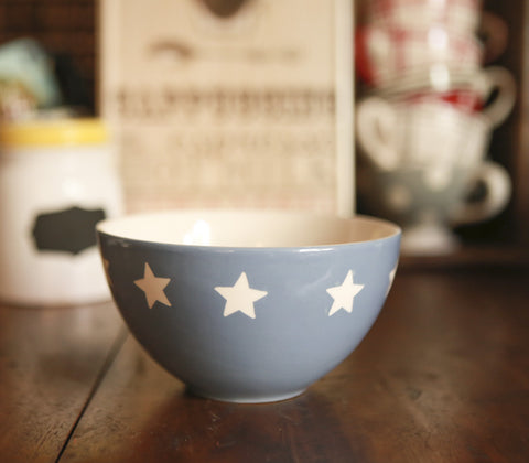 Coffee Mercantile - French Star Cereal Bowl