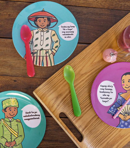 Dinnerware - Good Manners Plates - 6 Designs