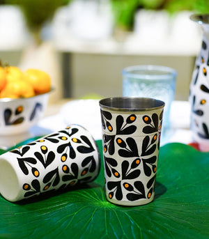 Dinnerware - Orla B&W Tin Kitchenware
