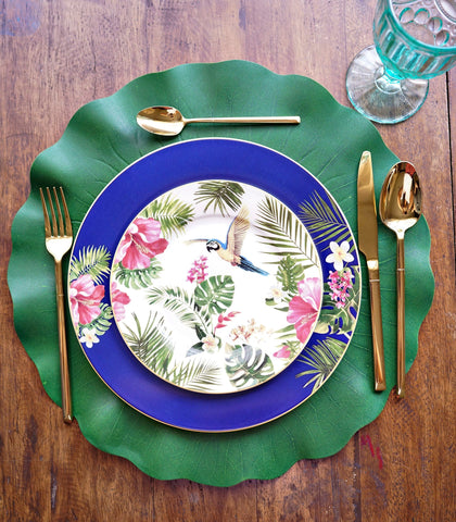 Dinnerware - Paradise Dinner Plate And Salad Plate Set (set Of 2)