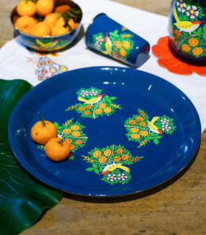 Dinnerware - Yellow Bird Tin Kitchenware