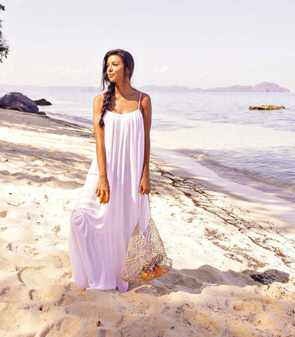 Dress - Girga Maxi Dress (White)