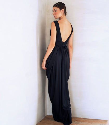 Dress - Karlovy Draped Jersey Dress
