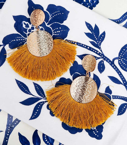 Earrings - Alejandra Fringe Earrings